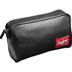e16f7a368c4b Rawlings Baseball Premium Heart of the Hide Black Leather Travel Kit. HOHTKB