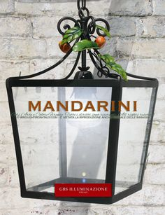 Mandarin Square Lantern | GBS Illuminazione – Ferro Battuto – Wrought Iron – GBS Arte e Colore  The Mandarin Square Lantern is the ideal choice for your country style kitchen or to brighten your gazebo, patio, veranda, or conservatory. The lantern shown is in carbon black, but can be made to order with colours and shades to match your furnishings.