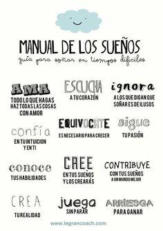 Manual de sueños para alimentar tu desarrollo personal y profesional Ideas Desarrollo Personal para www.masymejor.com