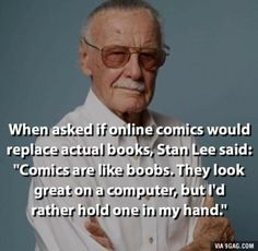 Check out the top 28 inspirational stan lee quotes. Stan Lee was a living legend. His death has brought a great loss to the world of comics. Read our best collection of inspirational stan lee quotes below. Marvel Funny, Marvel Memes, Marvel Dc Comics, Funny Comics, Marvel Avengers, Johnlock, Destiel, Stan Lee Quotes, Funny Quotes
