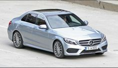 2015+Mercedes-Benz+C-Class+W205+Completely+Revealed+[Photo+Gallery]