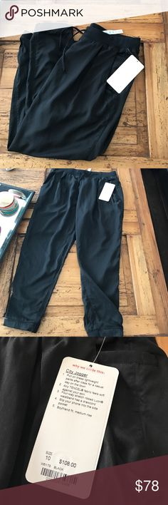 NWT Lululemon City Jogger Brand new, firm on price unless bundled then 20% off 😘 lululemon athletica Pants Track Pants & Joggers