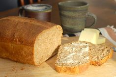 Healthy bread in five minutes a day. Make the dough and keep in fridge for up to 14 days. Just tear or cut off a chunk each day and enjoy fresh bread every day!