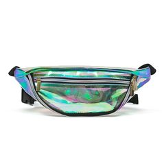 24.16$  Buy now - http://visjz.justgood.pw/vig/item.php?t=voirldg57804 - Zarapack Womens PVC Hologram Fanny Pack Bum Bag Purse Waist Bag Style 1