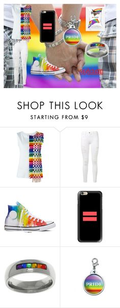 """""""PRIDE!!!"""" by niallersprincess4321 on Polyvore featuring Capucci, Frame Denim, Converse, Casetify and Carolina Glamour Collection"""