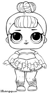 LOL Doll Miss Baby Glitter coloring page from L. Select from 31983 printable crafts of cartoons, nature, animals, Bible and many more. Baby Coloring Pages, Free Printable Coloring Pages, Coloring Pages For Kids, Free Coloring, Coloring Books, Baby Glitter, Doll Drawing, Lol Dolls, Digi Stamps