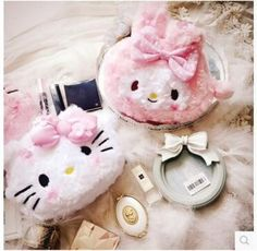 Beautiful Bow Hello Kitty My Melody Women Storage Bag Cosmetic Cases Organizer //Price: $81.36 & FREE Shipping //     #hashtag1