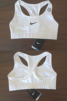 5af7d84cb7 Sports Bras 185083  New - Women S Nike Dri-Fit Sports Bra - White