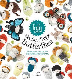 Pre-ORDER-Lalylala häkeln Buch 'Käfer Insekten und