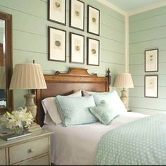 Love the color pallette - Serenity now!