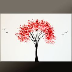 abstract tree paintings | Request a custom order and have something made just for you.
