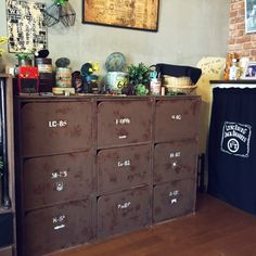 Industrial Style, Bookshelves, Man Cave, Liquor Cabinet, Small Spaces, Locker Storage, Cool Stuff, Holiday Decor, Interior