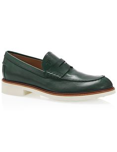 #Brazil supporter? You might like Tod's Leather Penny Loafers - The Luxer style suggestions