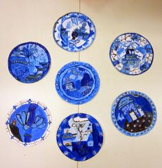 yr 6/7 willow pattern plates