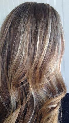 haare blond braun