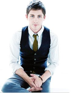 Logan Lerman, he's turned into quite a cutie.