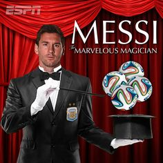 """Argentina is on to the Round of 16 in the World Cup thanks to Messi """"the Marvelous Magician"""" and his 4 goals."""
