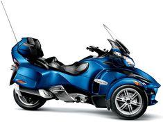 2010 Can-Am Spyder RT #motorcycles #motocicletas
