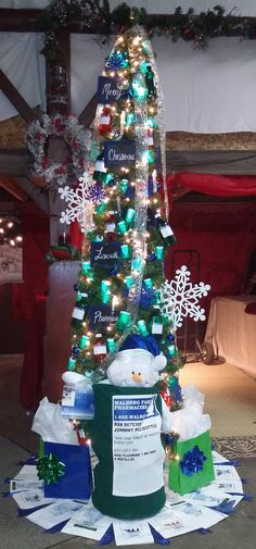 Pharmacy Themed Christmas Tree   Holidays in the Pharmacy ...