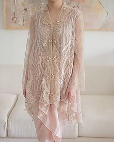 14 Wedding Dress – New Ideas – Hijab Fashion 2020 Kebaya Modern Hijab, Dress Brokat Modern, Kebaya Hijab, Kebaya Muslim, Muslim Dress, Kebaya Lace, Kebaya Dress, Dress Pesta, Batik Fashion