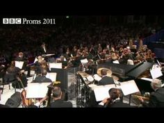 The classical proms 2011... The  BBC Concert Orchestra under Keith Lockhart play the James Bond Theme arranged by John Barry from music by Monty Norman at the Royal Albert Hall in the 2011 Proms Season.