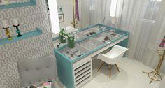 Projeto Espaço de Beleza – Decoração Online #5 Erika Karpuk #69492F 2402x1290