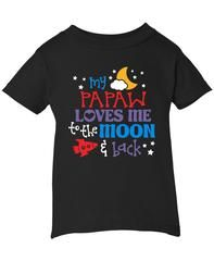 Toddler//Kids Long Sleeve T-Shirt Im Going to Love Pigs When I Grow Up Just Like My Papaw