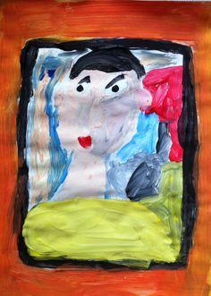 Tekenmaar kinderen: portret groep 3