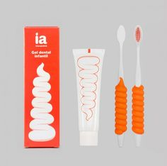 via Lovely Package: Interapothek toothpaste designed by Eduardo del Fraile. Pure fun.