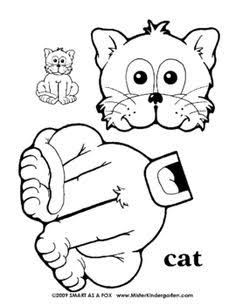 Animal paper bag puppets templates - Google Search