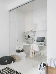 Minimalist home office design Trendy 47 Adorable Minimalist Home Offices Pinterest 47 Best Minimalist Home Offices Images Office Home Desk Office Decor