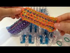 NEW! Swirlie-Twirlie Bracelet on Rainbow Loom - YouTube