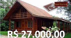 Resultado de imagem para plantas de casas em madeira