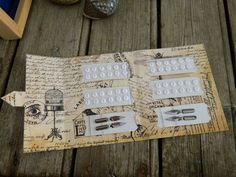 French Clutch bag  for dressmaker  // Gift for Textile par ruefedor