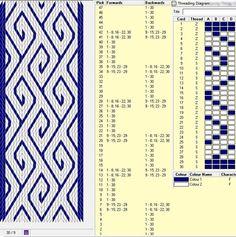 30 tarjetas, 2 colores, repite cada 14 movimientos // sed_210༺❁: