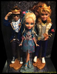 Ever After High Dolls — My custom Ever After High Charming siblings -...