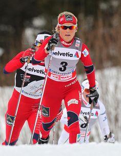Therese Johaug - Norwegian cross-country skier. The ski goddess