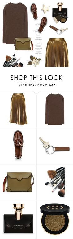 """September Chic"" by pattykake ❤ liked on Polyvore featuring A.L.C., Haider Ackermann, Georg Jensen, MANU Atelier, Bulgari, Gucci and Becca"