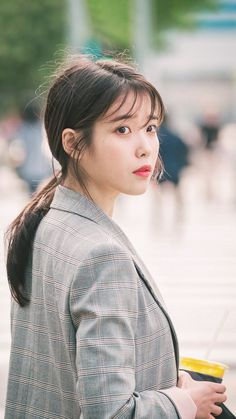 Iu Fashion, Korean Fashion, Korean Actresses, Actors & Actresses, Ulzzang Short Hair, Jenna Ortega, Kim Yoo Jung, Asian Celebrities, Girl Short Hair