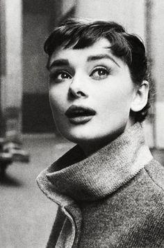 Franja curta | Audrey Hepburn | Short bangs Audrey Hepburn style