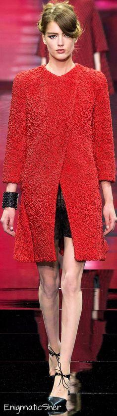 Armani Privé Fall 2014 Couture | The House of Beccaria~