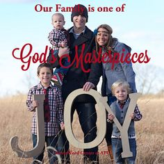 FAMILY truly is one of God's Masterpieces! #christian #family #ministry #faith #parenting #love www.homeword.com