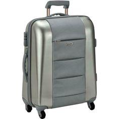 7d21dfe5ca [Werbung] GF FERRE Valise trolley Argent Coquille Cabin main-Bagages  Vacances Valise De
