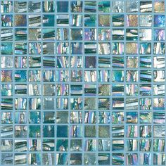 Shop Elida Ceramica Textured Emerald Glass Mosaic Square Indoor/Outdoor Wall Tile (Common: 12-in x 12-in; Actual: 12.5-in x 12.5-in) at Lowes.com