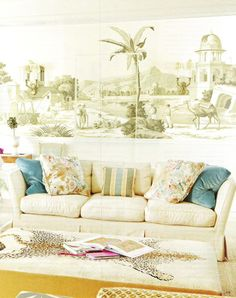 de Gournay wallpaper Ruthie Sommers