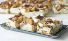 Frozen Honeycomb Slice Recipe - Dessert