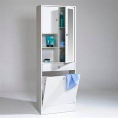 salle de bains 1025 meuble panier a