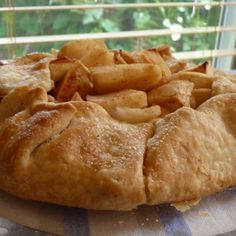 Free Form Apple Tart- Making this tonight, so I can use up my apples ...