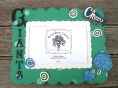 picture frame cheer spirit gift idea