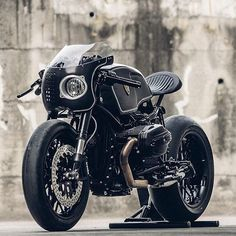 Rough Crafts 'The Bavarian Fistfighter' RnineT cafe racer.